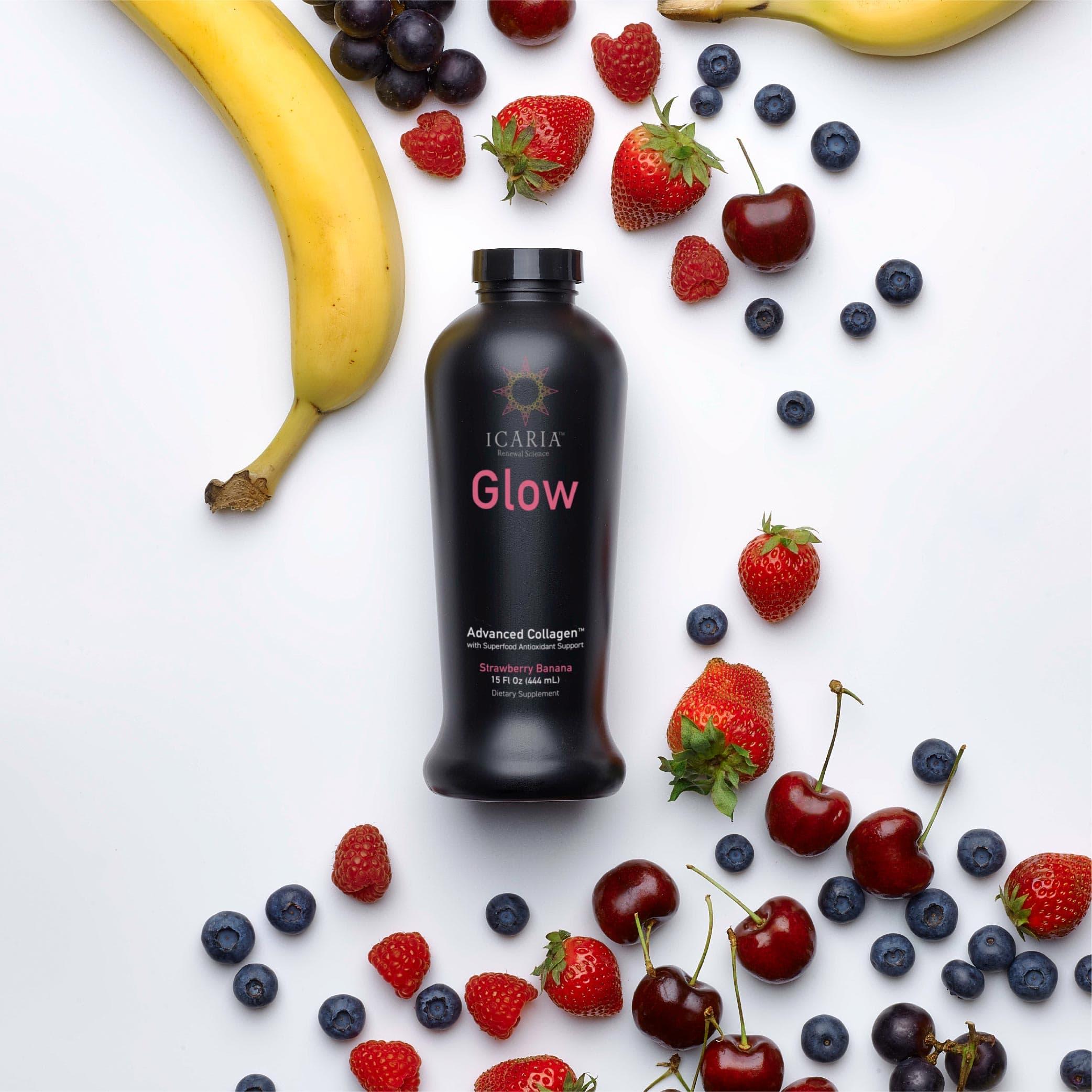 ICARIA Glow - Strawberry Banana